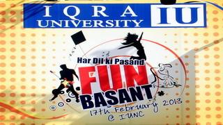 IUNC Event Society Presents FUNBASANT