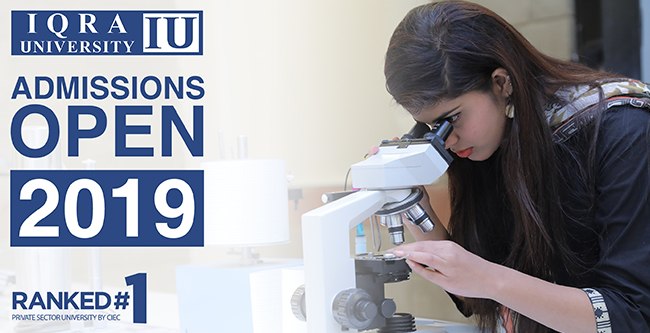 ADMISSION OPEN 2019