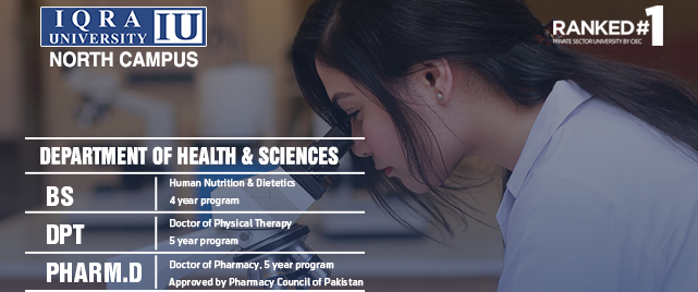 Department of Health & Sciences